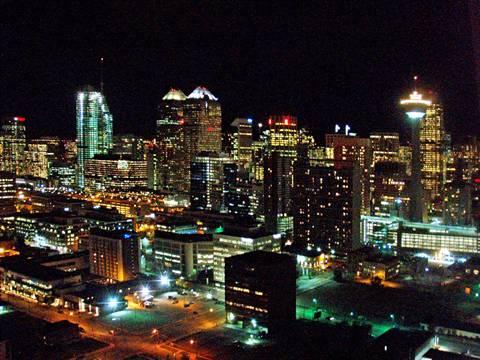 Calgary Du centre 3 chambre à coucher Condominium