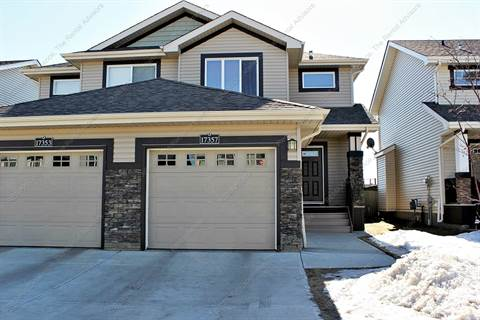 Edmonton West 3 bedroom Duplex For Rent