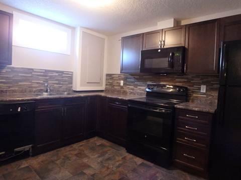 Edmonton Du nord-est 2 chambre à coucher Appartement en sous-sol À louer