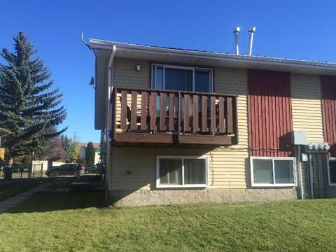 Red Deer 3 bedroom Four-Plex For Rent