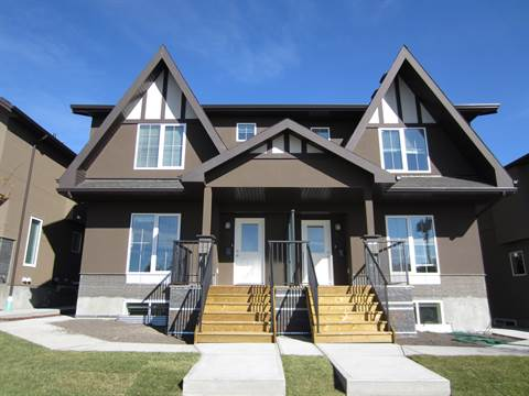 Calgary Alberta Four-Plex For Rent