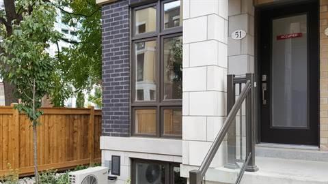 North York Maison urbaine pour le loyer, cliquer pour plus de détails...